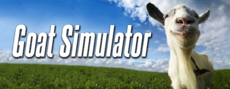 graphic cover of goat simulator