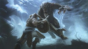 fighting the ice troll